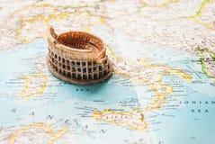 Ein Colosseum-niniature Lizenzfreies Stockfoto