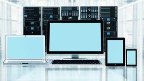 Multi Plattform Medien Lizenzfreies Stockfoto