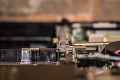 Ein Computer vom Innenraum stockbilder