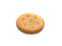 Ein Cracker, getrennt Stockfotografie