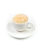 Ein Cup Espressokaffee stockbild