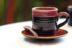 Ein Cup köstlicher Kaffee Lizenzfreie Stockfotos