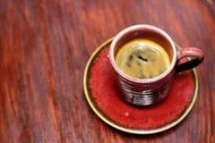 Ein Cup köstlicher Kaffee Stockfotografie