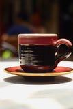 Ein Cup köstlicher Kaffee Stockfoto
