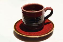 Ein Cup köstlicher Kaffee Lizenzfreies Stockbild