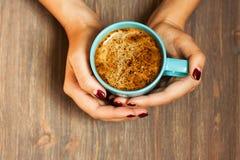 Ein Cup schwarzer Kaffee Lizenzfreie Stockfotos