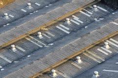 Ein Dach Stockfotos