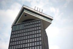 Ein ` Damm-Ausblick ` s Turm in Amsterdam stockbild
