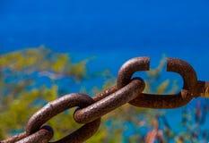 Ein defekter Link lizenzfreies stockfoto