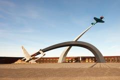 Ein Denkmal zu ` Verteidigern des Himmels des Vaterland ` stockbild