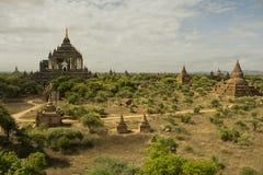 Ein der berühmten Pagode von Bagan Lizenzfreies Stockbild