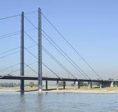 Ein der Brücke in Dusseldorf in Deutschland Stockfoto
