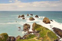 Ein des schönen Standorts in der Südinsel von Neuseeland Lizenzfreies Stockfoto