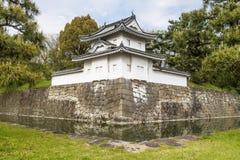 Ein Detail des schönen Nijo-Schlosses in Kyoto, Japan lizenzfreies stockbild