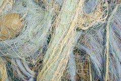 Ein Detail eines Fischernetzes Lizenzfreie Stockfotos