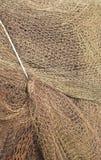 Ein Detail eines Fischernetzes lizenzfreies stockbild