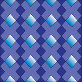 Diamant formt nahtloses Muster Lizenzfreies Stockbild