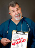 Obamacare Stockbild