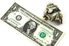 Ein Dollar Lizenzfreies Stockbild