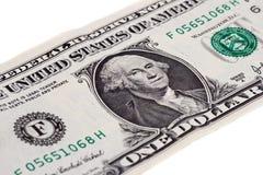 Ein Dollar lizenzfreie stockfotografie