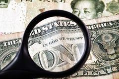 Ein Dollar Stockbild