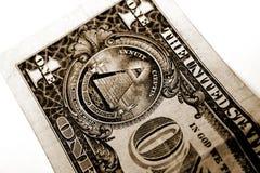 Ein Dollar Lizenzfreies Stockfoto