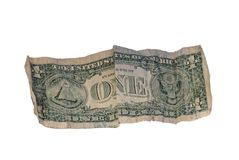 Ein Dollar Stockfotografie
