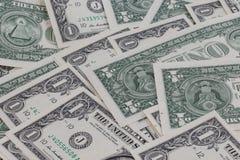 Ein Dollar backgroung Lizenzfreie Stockfotos