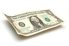 Ein Dollarschein Stockbild