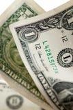 Ein Dollarscheine Lizenzfreies Stockbild