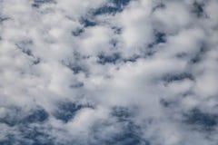 Ein drastischer bewölkter Himmel stockbild