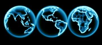 Ein Drittel der Welt Stockbild