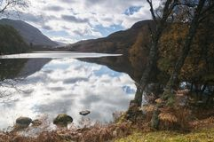 Ein Dubh Lochan Stockfotos