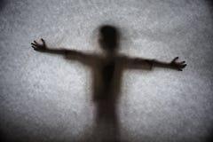 Ein dunkler Schatten Stockfotos