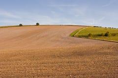 Ackerland in Wiltshire Lizenzfreie Stockfotografie