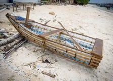 Ein eco Boot auf den gilli Inseln in Indonesien Stockfoto