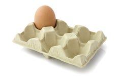Ein Ei im Paket Lizenzfreie Stockfotografie