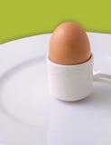 Ein Ei zum Frühstück Lizenzfreie Stockbilder