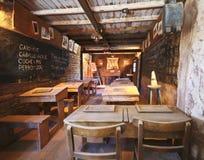 Ein ein Raum-Schulhaus von altem Tucson, Tucson, Arizona Stockbilder