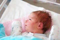 Ein eines-Tag-alt neugeborenes Baby Stockbilder