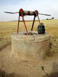 Ein einfaches gut in der Landschaft von Marokko Lizenzfreies Stockbild
