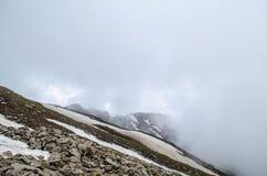 Ein einsamer Berg Stockfoto