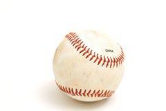 Ein einzelner Baseball lizenzfreie stockfotos