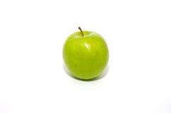 Ein einzelner grüner Apple lizenzfreie stockfotografie