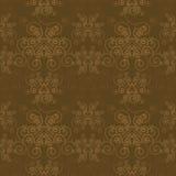 Elegantes Sepia-Muster Lizenzfreie Stockbilder