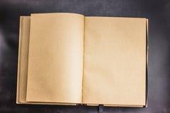ein empy Notizbuch lizenzfreies stockfoto