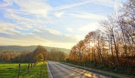 Ein Ende findener Herbst Stockfotos