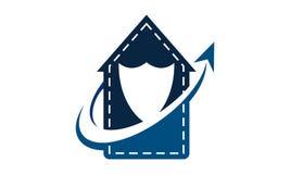 Ein Endeinkaufen Logo Design Template stock abbildung