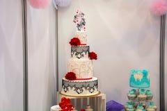 Ein enormer Kuchen Stockfotografie