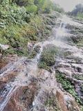 Ein enormer Wasserfall Stockfotografie